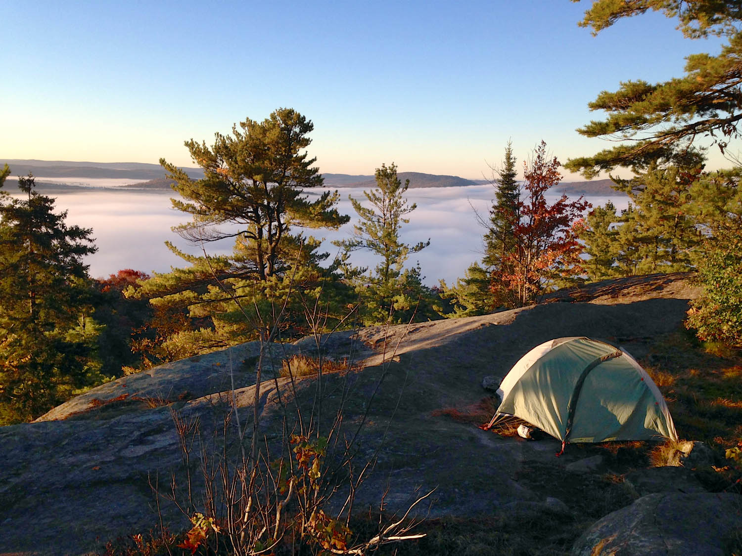 Upstate on Bald Mountain - Camp Trend