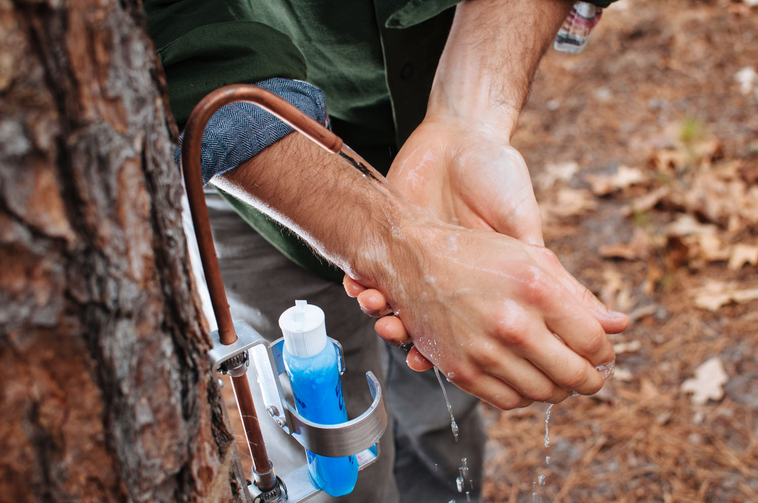 Advanced Hand Wash System Camp Trend