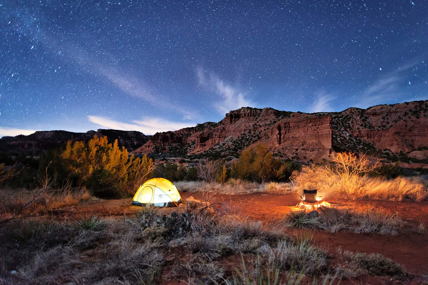 Caprock Canyon State Park Camp Trend
