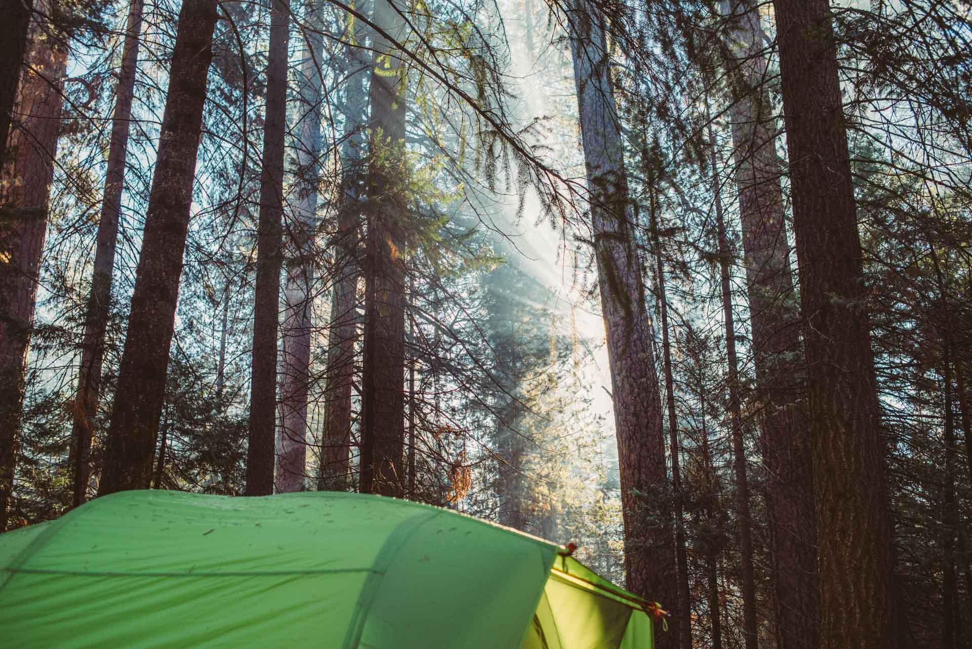 early morning campfires in hodgdon meadows