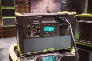 Goal Zero - new yeti generators, completely redesigned with lithium batteries.