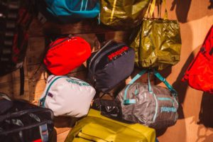 Patagonia - new packing cubes help to keep duffel bags organized.
