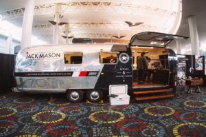 Airstream at the Jack Mason Booth