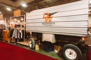 Duckworth brought their custom farm trailer