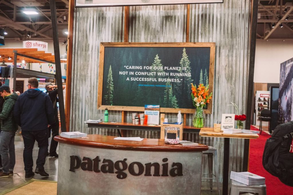 Patagonia always big on conservation