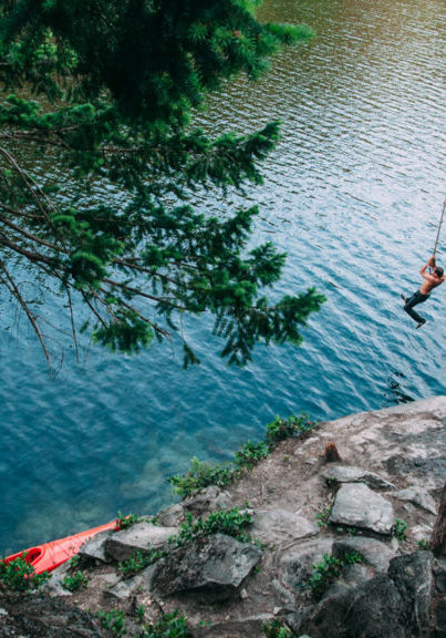Camp Trend - Brohm Lake Rope Swing
